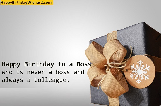 birthday greetings for boss