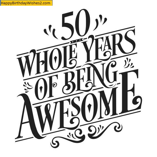 free happy 50th birthday images