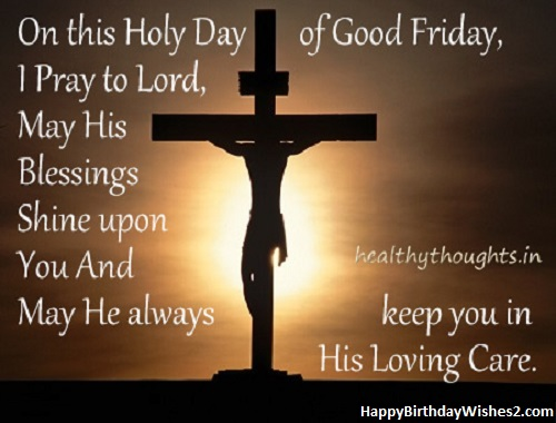 good friday blessings images