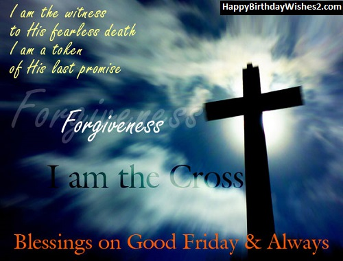 good friday scripture images