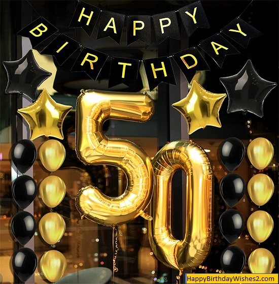 happy 50th birthday friend images