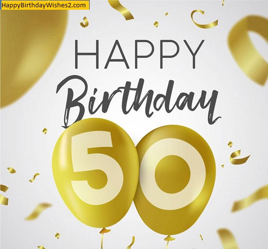 happy 50th birthday images female