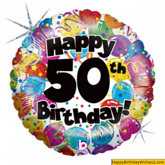 happy 50th birthday images for him