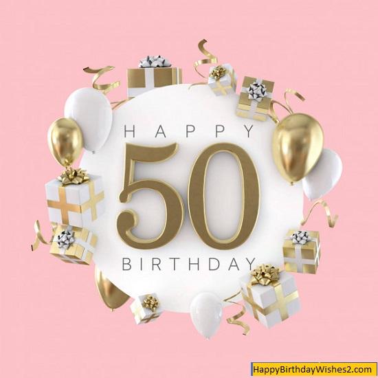 happy 50th birthday pics
