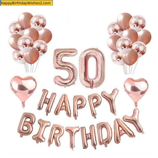 happy 5oth birthday images