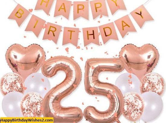 happy birthday 25 images