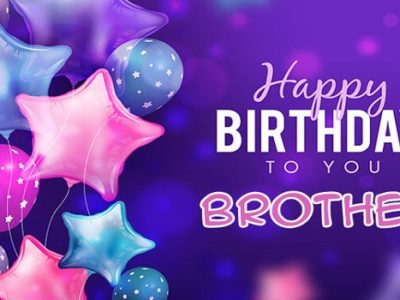 {80+} हिंदी  Birthday Wishes, Messages, Shayari for Brother in Hindi | Quotes, Status