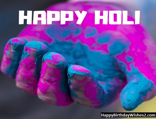 happy holi message wishes