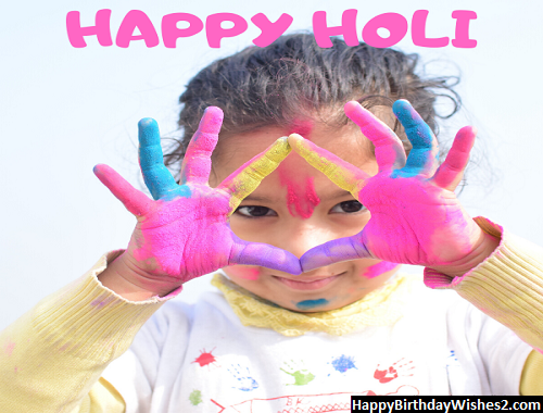 happy holi slogan in english