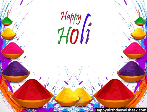 holi wishes for group members