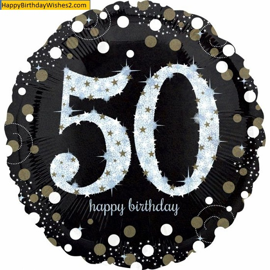 male 50th birthday images