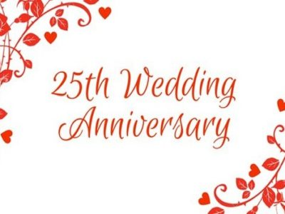 {60+} 25th Wedding Anniversary Wishes, Messages, Quotes for Friends