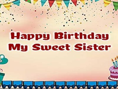 {80+} हिंदी  Birthday Wishes, Messages, Shayari for Sister in Hindi | Quotes, Status