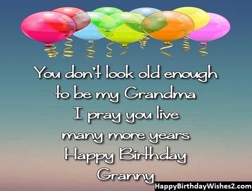 birthday greetings for grandma