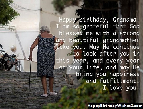 birthday wishes for grandmother quotes