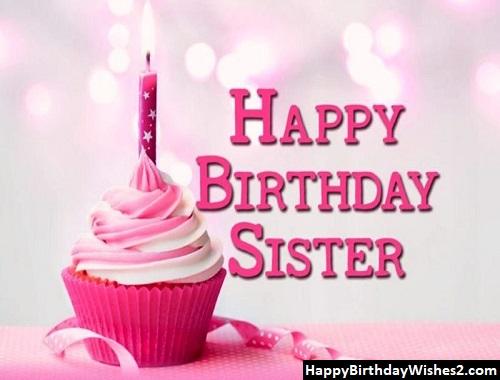 birthday wishes sister hindi