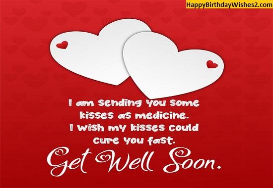 wishing him a speedy recovery