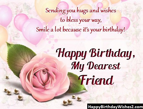 happy birthday to a dear friend images