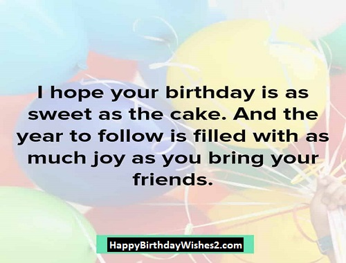 happy birthday to dear friend images