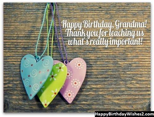 happy birthday to my grandma in heaven