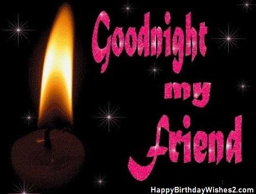 good night photo image