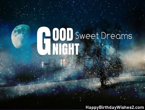 good night sad image