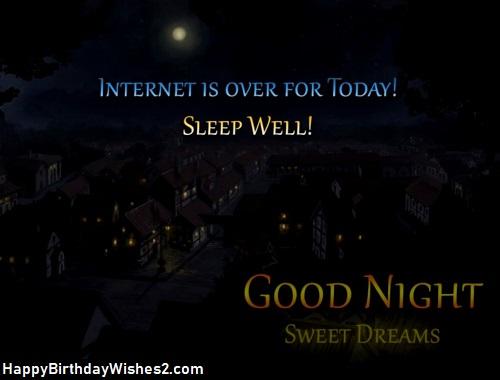 good night sweetheart images