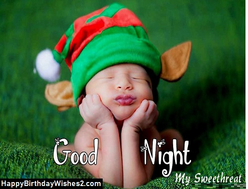 good night sweety images
