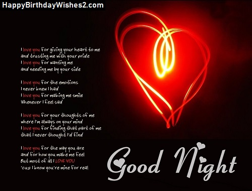 hot good night image