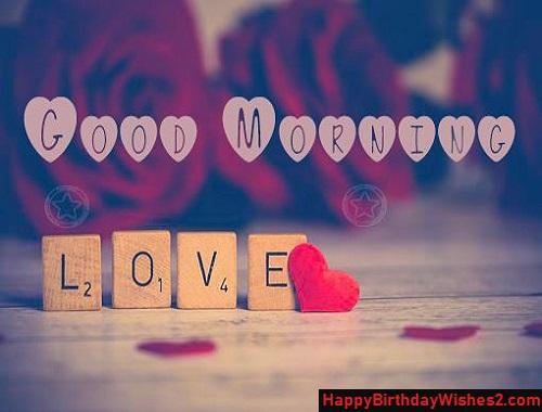 romantic good morning pics