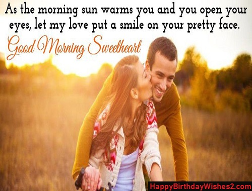 romantic images good morning