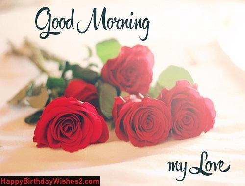 romantic kiss good morning images