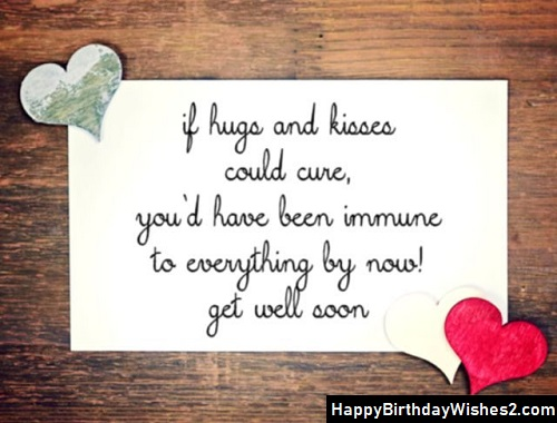 get well messages for her