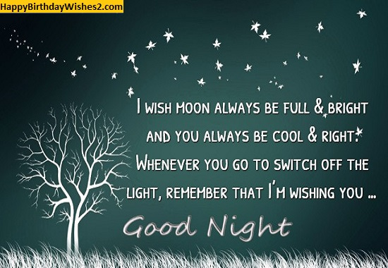 good night quotes for friends