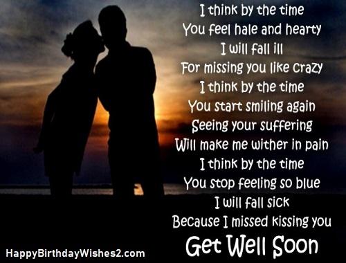 wishing her a speedy recovery