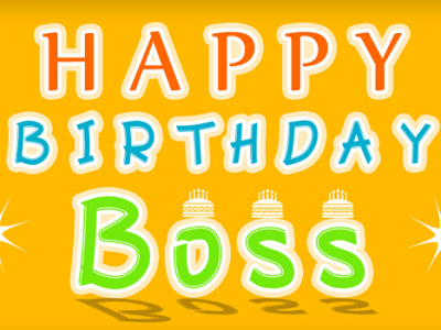 {80+} Amazing Happy Birthday Wishes for Boss (Mentor)   Sir